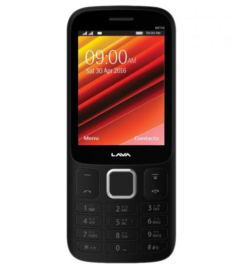 Lava KKT 48 (Silver+Black) Mobile