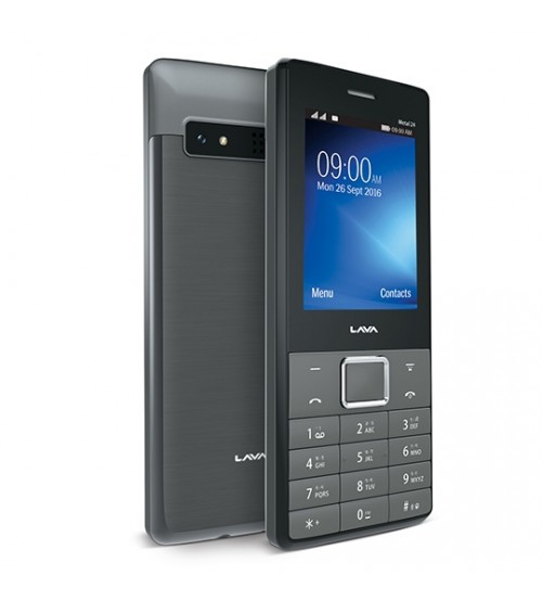 Lava Metal 24 (Black) Mobile