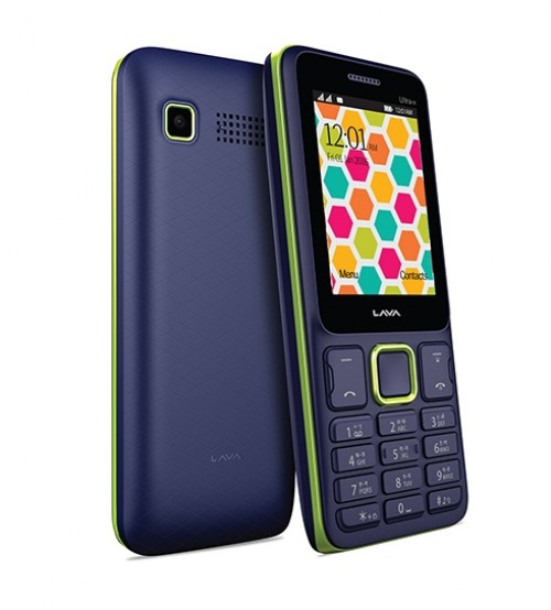 Lava KKT UltraX (Black-Green) Mobile