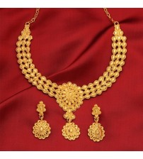 ShreeHari Traditional Drop Design Necklace ST1029
