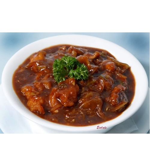 Veg Manchurian Gravy (6pc) (Last order-8:15 pm)