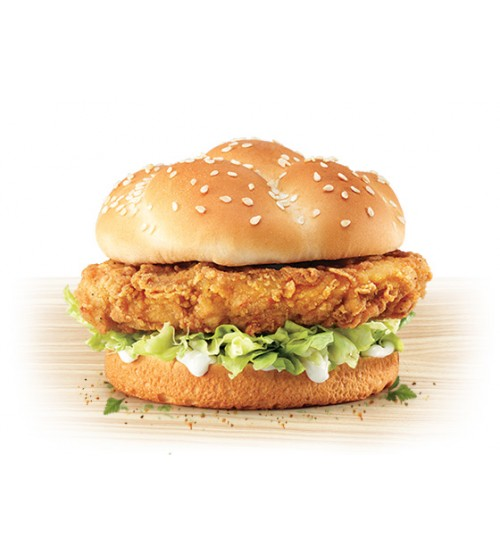 KFFC Chicken Burger (Last Order 8 PM)