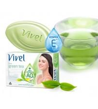 Vivel PURE GREEN TEA FOR SOFT SKIN (3 Pack) 100 gm