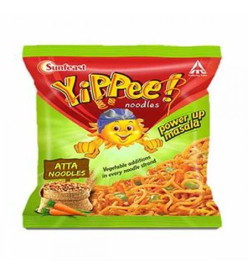 Yippee Power Up Atta Noodles - 70gm
