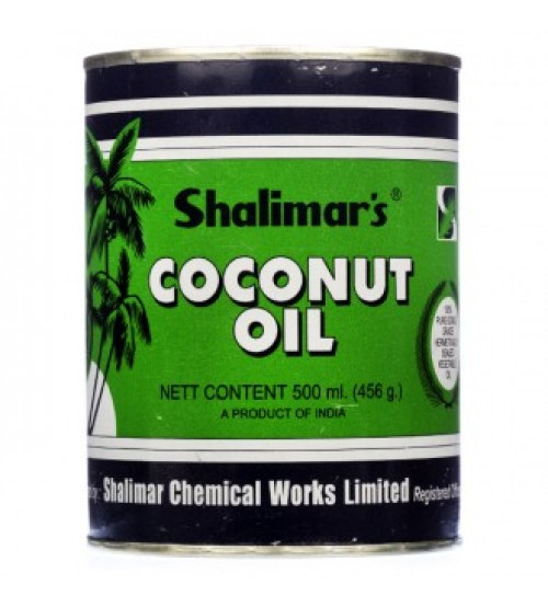 Shalimar'S Coconut (Tin) Oil 200 ml