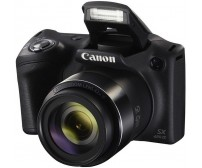 Canon Powershot SX420 IS Digital Camera | 20 MP | 42x Optical Zoom | Black Color with free 8GB memory card and camera case