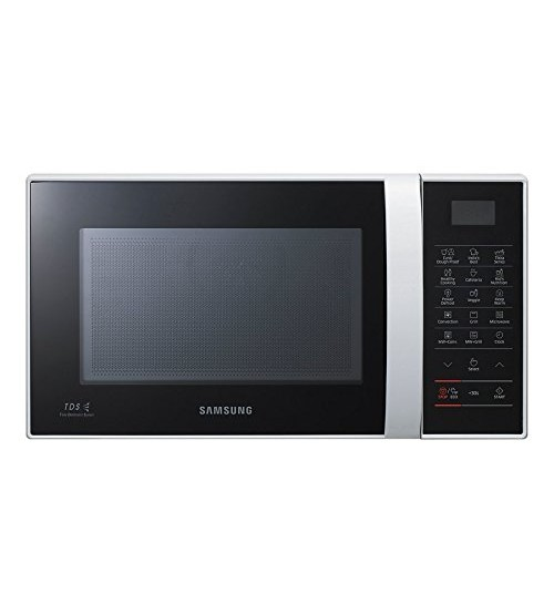 Samsung CE76JD-CR/XTL 21-Litre Convection Microwave Oven with Ceramic Cavity (Orcherry Red)