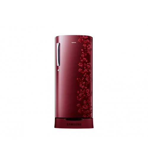 Samsung RR19J2835RX Direct-cool Single-door Refrigerator (192 Ltrs, 5 Star Rating, Orcherry Garnet RED)