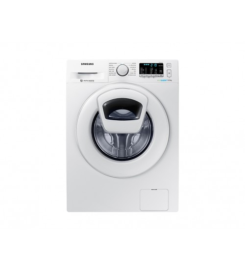 Samsung Washing Machine WW80K5210WW Front Loading with AddWash 8.0Kg & Smart Check