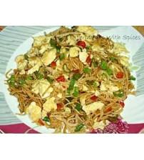 Egg Chowmein(1plt) (Order Time- 4 pm to 8:15 pm)(Ranna Ghar)