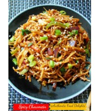 Spicy Chowmein (Order Time:- 4 pm To 8.15 pm) (Ranna Ghar)