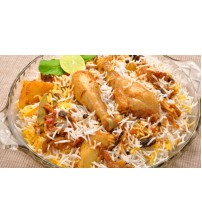 Chicken Biryani (Full-2 Pics Chicken) (Sujoy Snacks)  (Last order-8:15 pm)