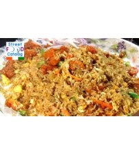 Chicken  Fried Rice (Last order-8:15 pm) (SAMPRITI HOTEL AND RESTAURANT)