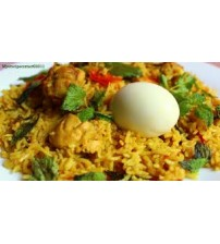 Egg Mutton Fried Rice (Last order-8:15 pm) (SAMPRITI HOTEL AND RESTAURANT)