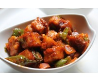 Dry Chilli Chicken 8 Pcs,    Order time-(1 pm to 8:15 pm)