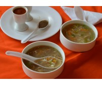 Chicken Clear Soup, Order time-(1 pm to 8:15 pm) (Wifi Zone)