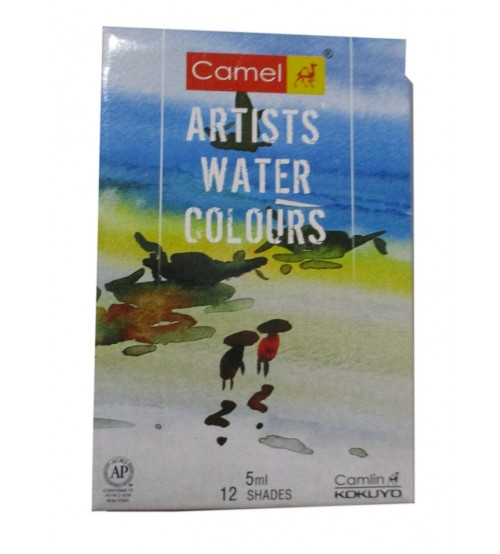 Camel Artist Water Colour 12 shades