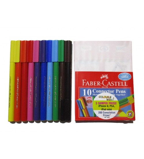 Faber Castell 10 Shades Connector Sketch Pens