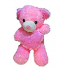 With Love Teddy (Pink)