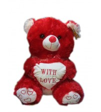 With Love Teddy (Red)