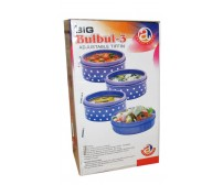 Big Bulbul 3 Adjustable tiffin