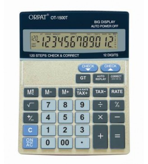 ORPAT OT-1500T Office Calculator