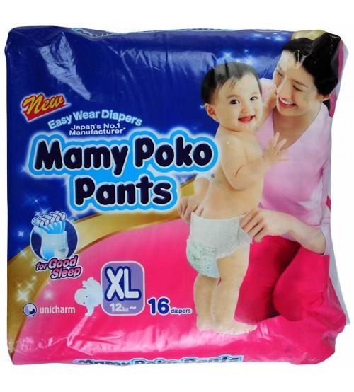 Mamy Poko Pants XL (12-17 Kg), 16 Pcs