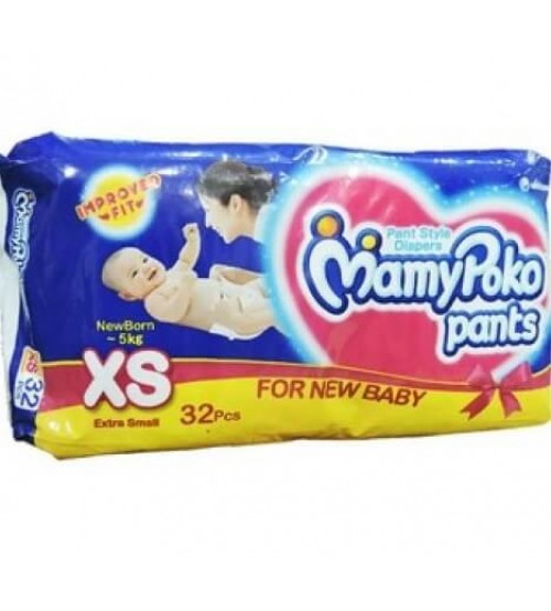 Mamy Poko Pant Style Diapers Extra Small - 32 Pcs