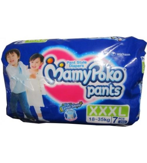 Mamy Poko Pant Style XXXL Size Diapers (7 Pcs)