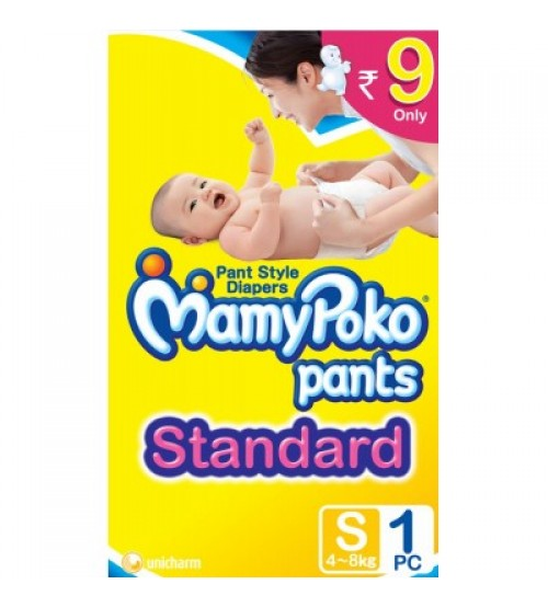 Mamy Poko Pants Standard Pant Style Small Size Diapers (1 Pcs)