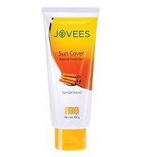 Jovees Sandalwood Sun Cover Natural Protection SPF 30 (100gm)